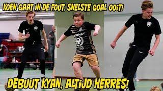 BANKZITTERS - ALTIJD HERRES FC | Koen gaat in de fout, snelste goal ooit! Debuut Kyan!