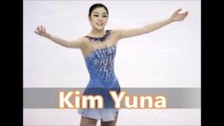 Top 10 Olympic Ladies Figure Skaters,Michelle Kwan,Kim Yuna,Tara Lipinski,Oksana Baiul