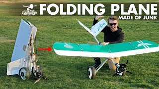 Using $5 of Junk to Build a Plane | Golf Club Bomber