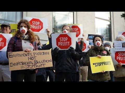 SCOTT PRUITT- WAR ON THE EPA