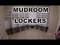 Homemade Mudroom Cabinets with bench #1 | THE HANDYMAN