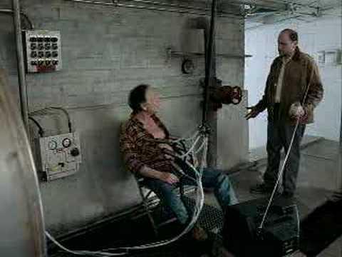 Men Milked By Machines