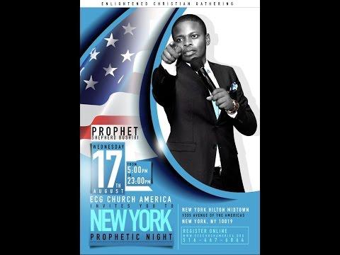 New York | USA | Prophetic Night with Major 1 | Prophet Shepherd Bushiri