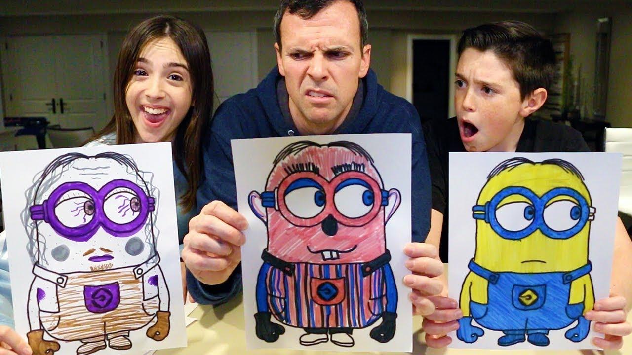 3-marker-challenge-minion-spongebob-peppa-pig-edition