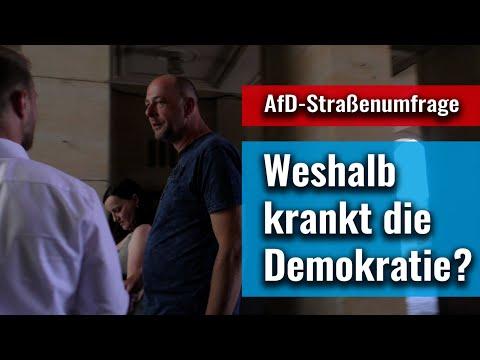 Straßenumfrage: Wünschen Sie sich mehr direkte Demokratie?