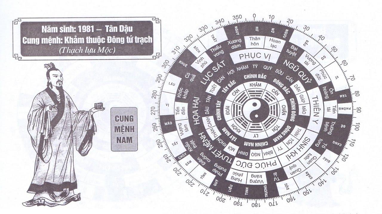 TỬ VI NAM SINH NĂM 1981 - T N DẬU CUNG MỆNH PHONG THỦY HỢP TUỔI GÌ?