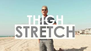 Thigh Stretches for Surfing