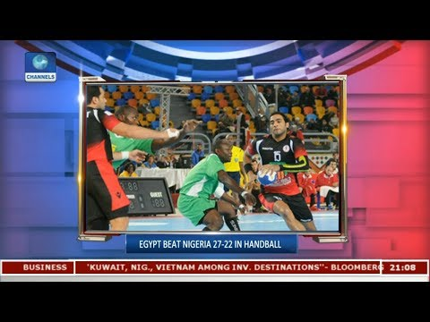 Egypt Beat Nigeria 27-22 In Handball | Sports Tonight |