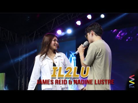HOTNESS OVERLOAD: James Reid & Nadine Lustre's holding hands while singing IL2LU at EK!