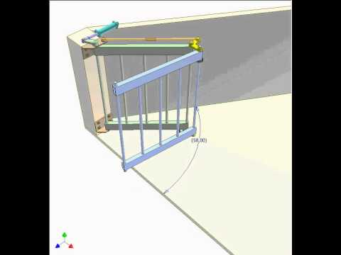 Bi Folding Gate 1 Youtube