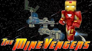 Minecraft MineVengers - SPACE STATION TOUR!