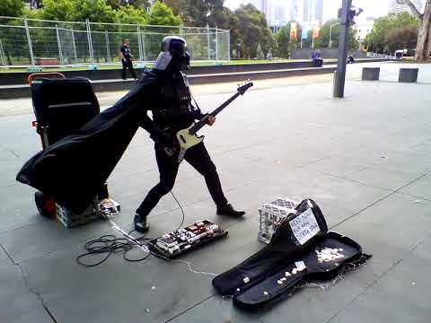 Darth Busker (aka Funky Bunny) at iMax Melbourne
