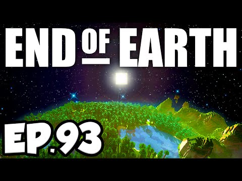 End of Earth: Minecraft Modded Survival Ep.93 - CHEESE PLANET!!! (Steve's Galaxy Modpack)