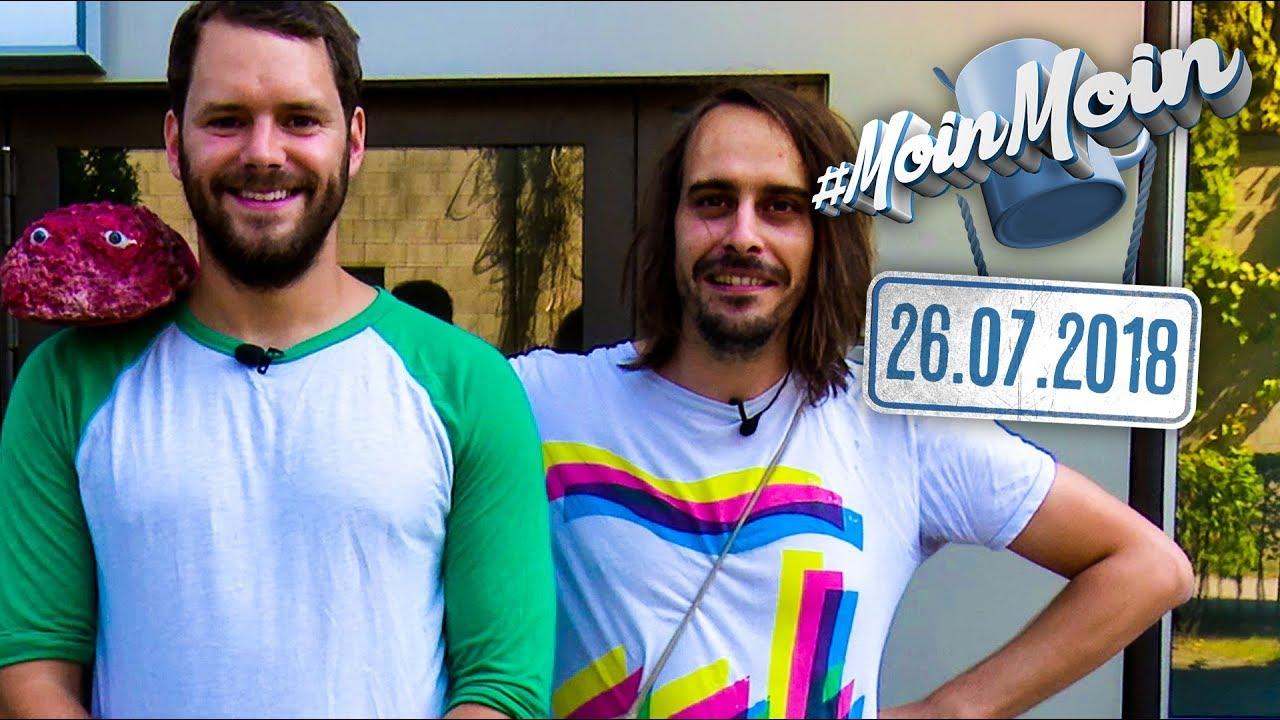 Andy besucht Gunnar beim NDR und findet sprechendes Mett | MoinMoin mit Andy