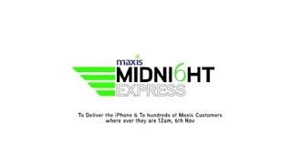 Maxis Midnight Delivery- Delivering iPhone 6 to Customers Wherever They Were