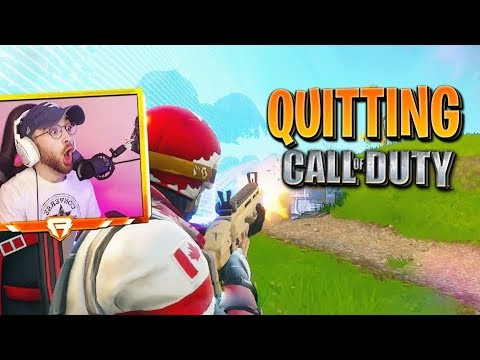 QUITTING Call of Duty FOR THIS GAME?! thumbnail