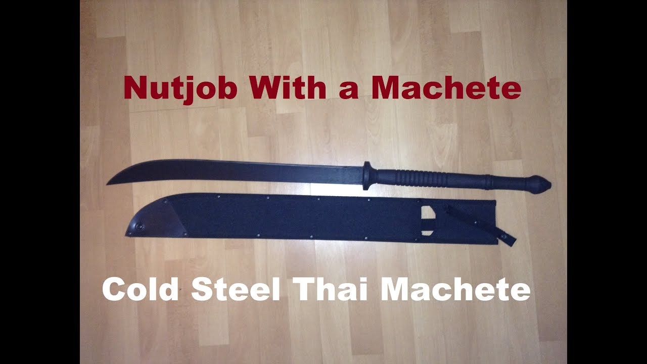 cold steel thai machete review