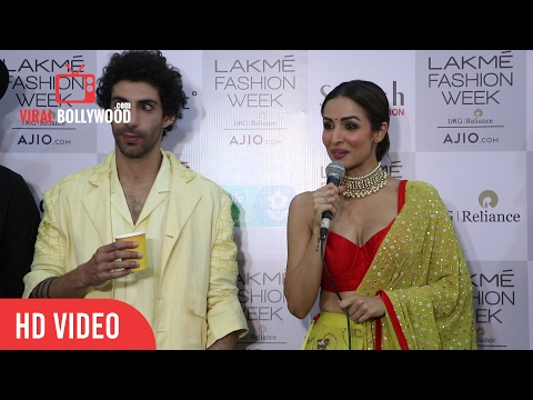 Malaika Arora Khan Post Interview | Press Conference | Lakme Fashion Week Summer Resort 20