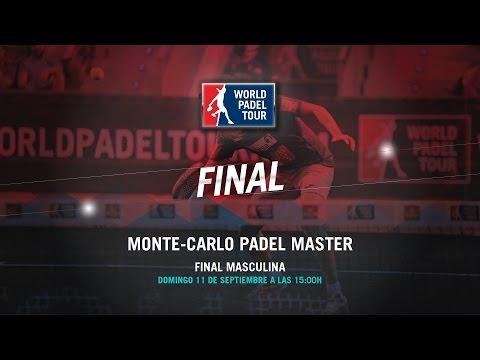 DIRECTO - Final Masculina Monte-Carlo Padel Master 2016 | World Padel Tour