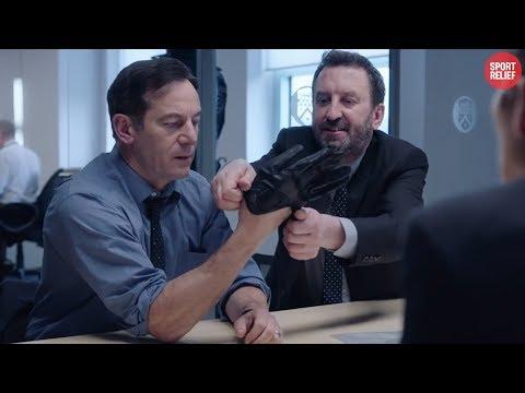 Line Of Duty - Lee Mack's Hilarious 'Deleted' Scene   Sport Relief 2020