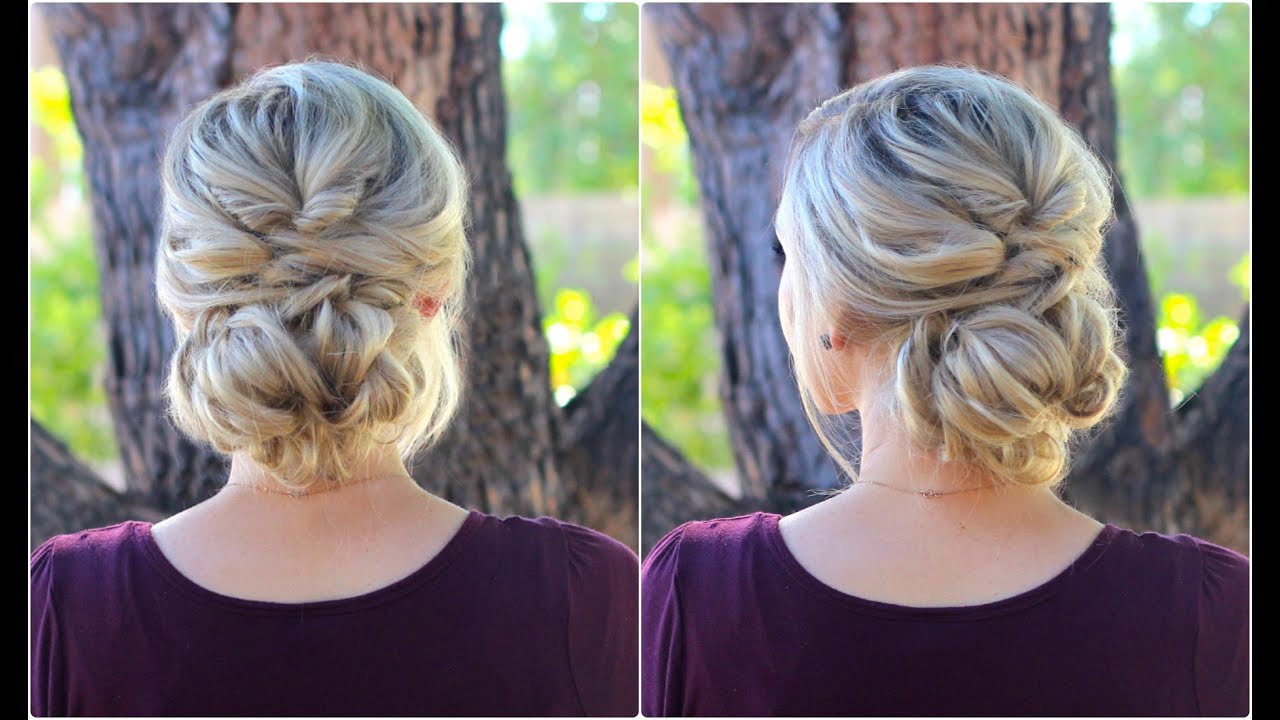 Topsy Tail Bun Updo Cute Girls Hairstyles Youtube
