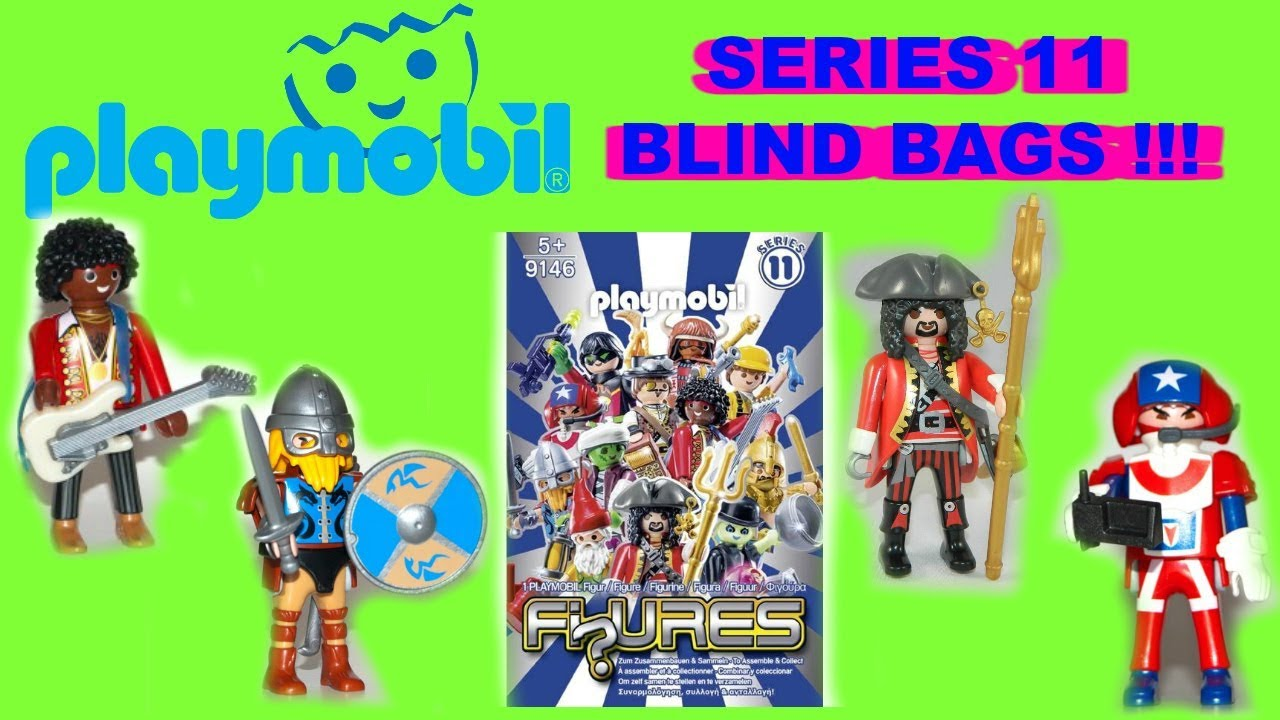 playmobil figures series 11 blind bag surprises for boys. Black Bedroom Furniture Sets. Home Design Ideas