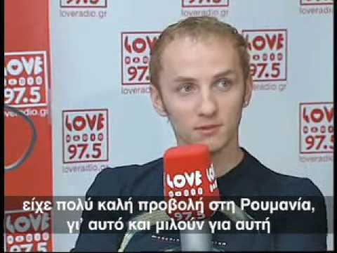 Mihai Traistariu - in Greece - interview @ Love Radio