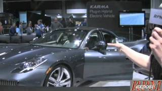 DC Auto Show 2009 Karma Fisker