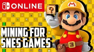 SNES Game Descriptions Found in Nintendo Switch Online Code