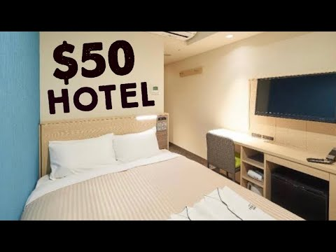 $50 Hotel Room in Osaka Japan