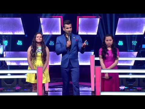 The Voice India - Passang and Tanu Performance in The Battle Round