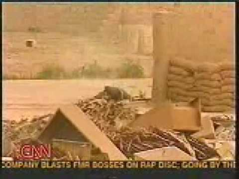 Marines EXecute Iraqi -  Shown On CNN TV News