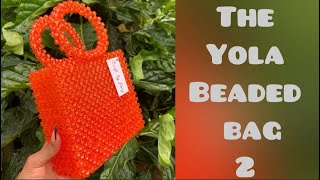 The Yola beaded bag // Beaded bag tutorial// DIY// Part 2: Handle