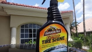 Armor All Extreme Tire Shine Spray Review and Test Results on my Honda Prelude