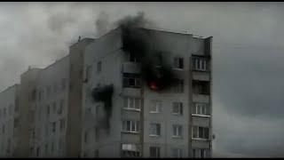 ПОЖАР//У НАС В ГОРОДЕ! (не кликбейт)//горел 25 дом