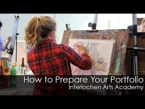How to Prepare a Portfolio for the Academy Visual Arts Major
