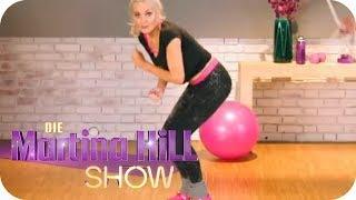 Fitness Workout mit Jamie Powers: Seilspringen | Die Martina Hill Show | SAT.1 TV