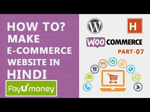 how to integrate payment gateway in woo-commerce   wordpress tutorials in hindi Ep#31