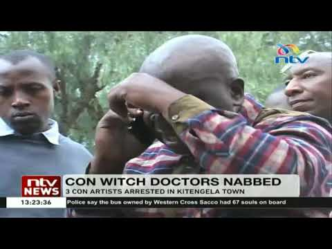 3 con witch doctors arrested in Kitengela town