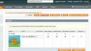 Magento Import/Export Product