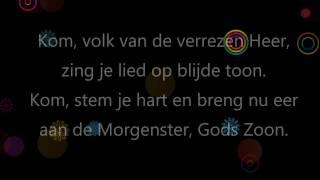 Kom, volk van de verrezen Heer (Opwekking 723) - backing track