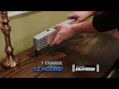 Bell + Howell Light Bar 1 Hour Charge