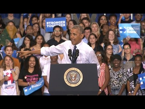 Obama rallies Clinton supporters in Florida