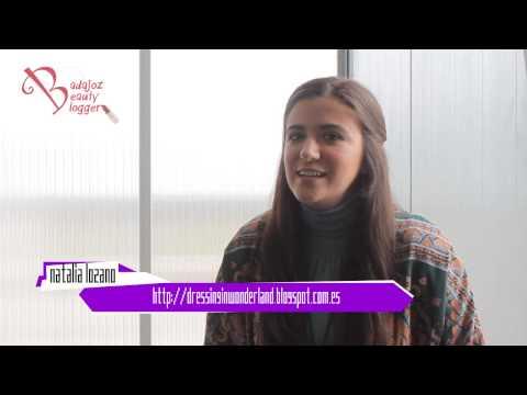 Badajoz Beauty Blogger // Entrevista a Natalia Lozano