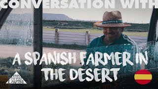 CONVERSATIONS WITH Enrique, cowherd in Aragon, Spain. Transhumance between desert and mountains