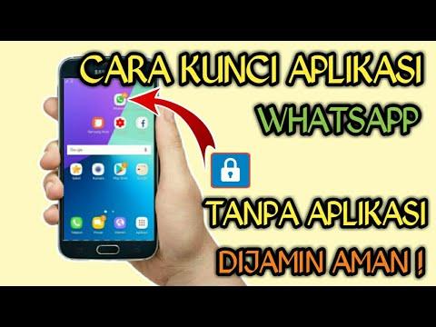 Cara Mengunci Whatsapp Hp Samsung J2 Prime Youtube