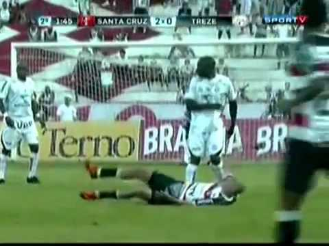 Campeonato Brasileiro da Série C 2012 - Treze 1x2 Santa Cruz-PE (Jogo Completo)