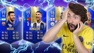 OMG! IMAM REKORD U ULTIMATE TEAM OF THE SEASON DRAFTU?! FIFA 19