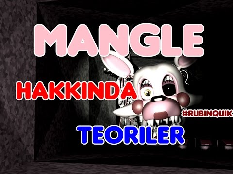 Türkçe - Five Nights at Freddy's 2 - Mangle ( Toy Foxy ) Hakkında GİZEMLER - #RubinQuik