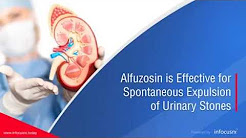 Alfuzosin Is Effective For Spontaneous Expulsion Of  Urinary Stones